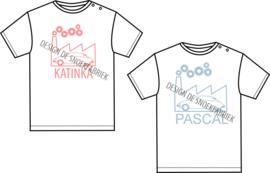 "BABY T-shirt ""de snoekfabriek"" CUSTOM DESIGN"