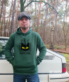 hoodie Marchal green