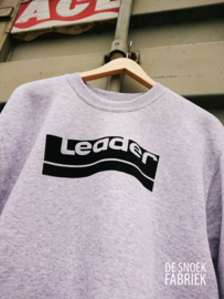 sweater LEADER FLOCK PRINT