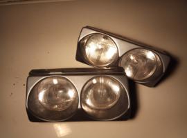 "Set dubbele koplampen Citroën BX ""Morrette"" (gebruikt)"