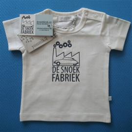 "BABY T-shirt ""de snoekfabriek"" navy print"