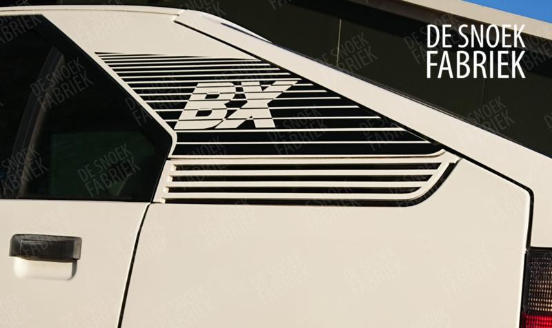 C-stijl striping BX sticker set repro beide kanten