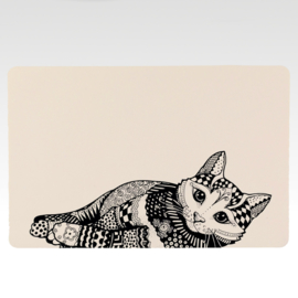 Placemat - Zentangle Cat