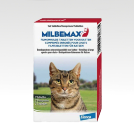 Milbemax Cats 2 tabletjes
