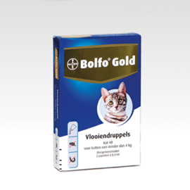 Bolfo Gold 40 - 2 pipetjes