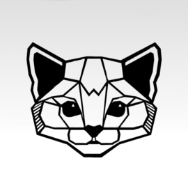 Geometrische Cat Face
