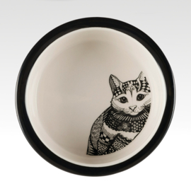 Zentangle Cat Bowl