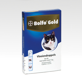 Bolfo gold 80 - 4 pipetjes