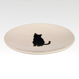 Ceramic - Cat Dish Black Cat