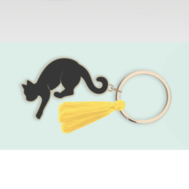 Grazy Cat Lady  - Keychain