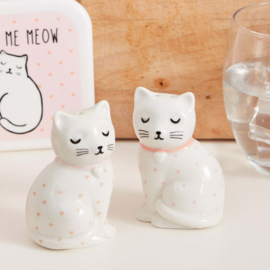 Cutie Cat Peper & Zout stel