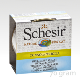 Schesir Broth Tuna & Red Mullet