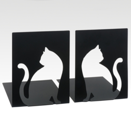 Bookends Cut Out Cats