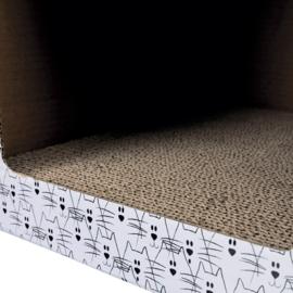 Cardboard - Kitten Play House