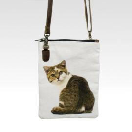 Curious Tabby - Crossbody Bag