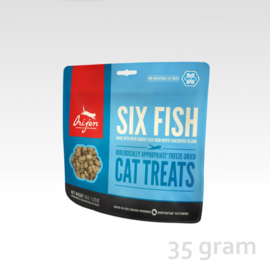 Orijen Cat Treat Six Fish
