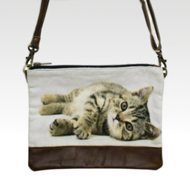 Lazy Tabby - Crossbody Bag