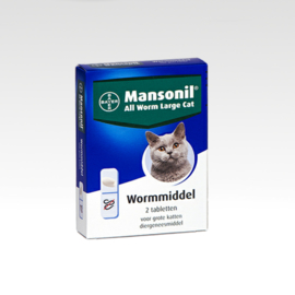 Mansonil All Worm Large Cat