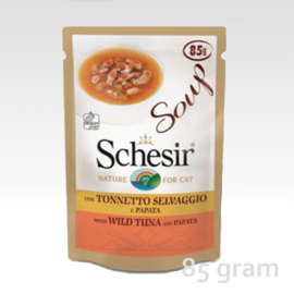 Schesir Soup Tuna & Papaya