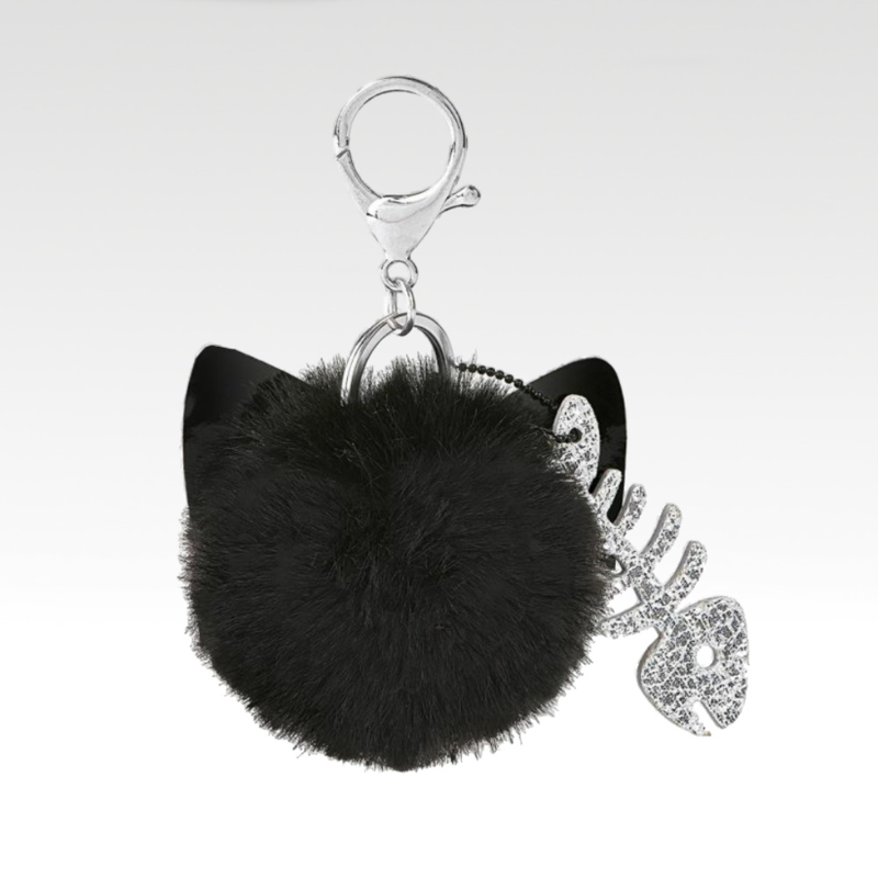 Ed the Cat - Keychain