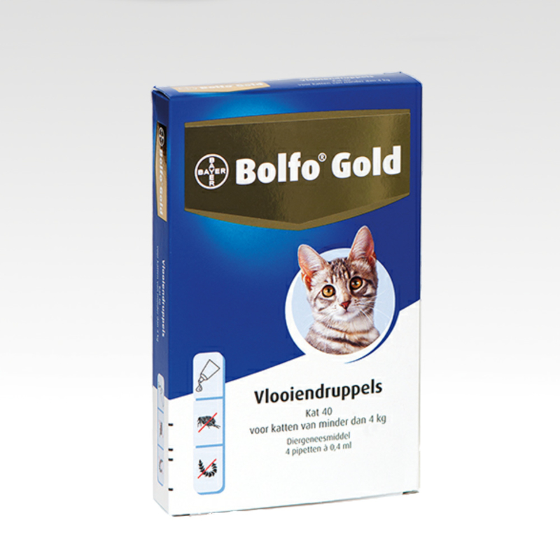Bolfo Gold 40 - 4 pipetjes