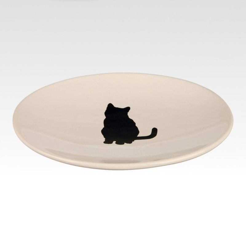Cat Dish Black Cat