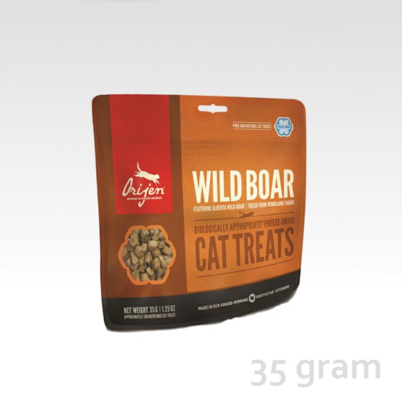 Orijen Cat Treat Wild Boar