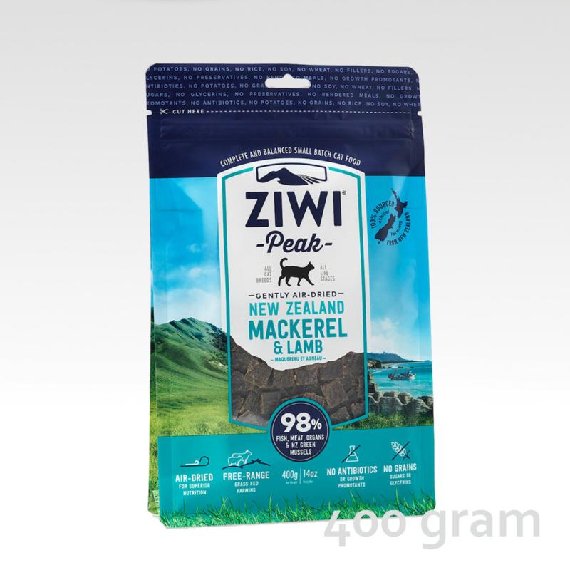 ZIWI Peak Cat Mackerel & Lamb
