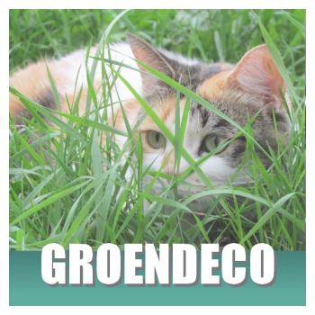 Klik hier voor kattendecoratie in tuin en op balkon