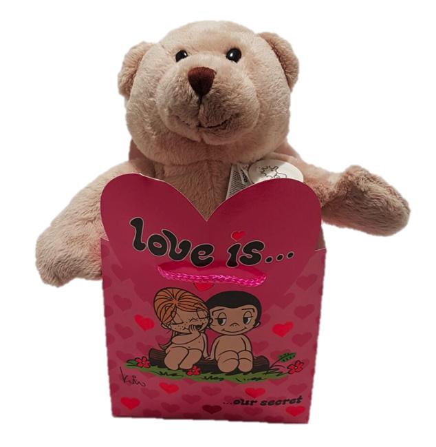 Liefdes tas met beer Buster