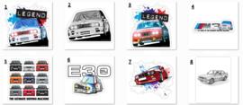 E30 Stickers