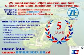Clubjubileum LEDEN Ticket