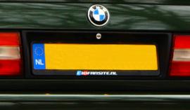 E30Fansite.nl License plate holder