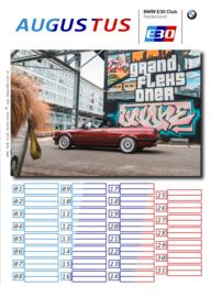 Geburtstagskalender 2019 Edition