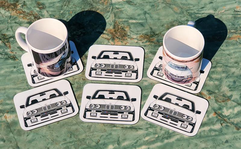 Onderzetter set - E30 Front