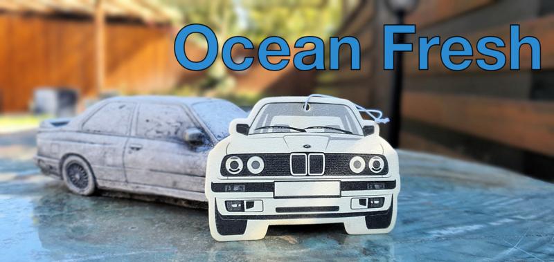 E30 Geurhanger - Ocean Fresh