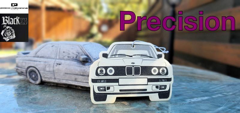 E30 Geurhanger - *Special* Paco Rabanne Precision - BLACK XS