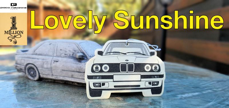 E30 Duftbügel - *Special* Paco Rabanne Lovely Sunshine - 1MILLION