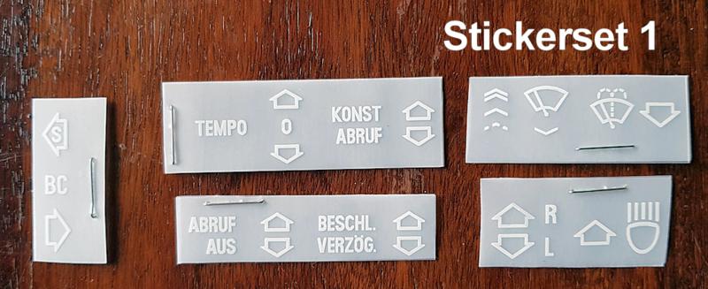 Instrumenten Stickerset
