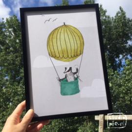 poster das in de luchtballon -A4