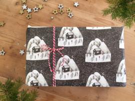 kerst cadeaupapier tekening