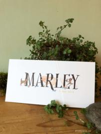 Geboortekaartje Marley!Chinese dierenriem