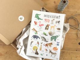 poster dieren ABC  -  alfabetposter