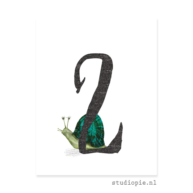 cijfer 2  | cijferkaartje