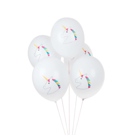 My Little Day ballonnen Unicorn/Eenhoorn (5 stuks)