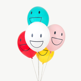 My Little Day Ballonnen Happy Faces