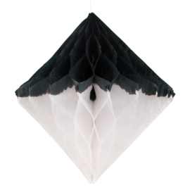 My Little Day Diamant honeycomb (zwart/wit)