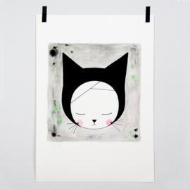 Victoria Lilly | A4 print Sleepy Elsie