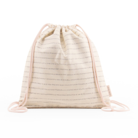 Sticky Lemon Drawstringbag (nude pink)