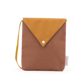 Sticky Lemon | Envelop Bag Schoudertasje (sugar brown)